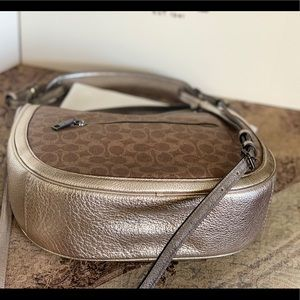 Coach Bags - Coach Signature Hobo Crossbody! Price firm !